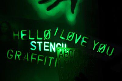 Любители граффити могут рисовать светом