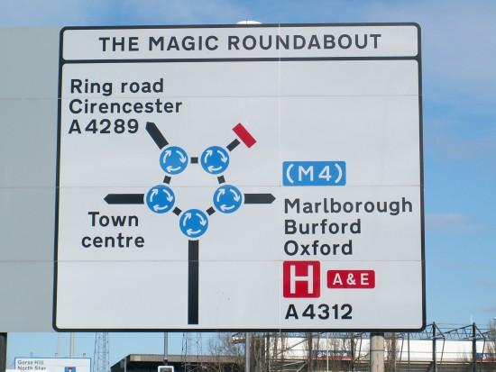 Magic Roundabout - Круговое движение или прикол реальный