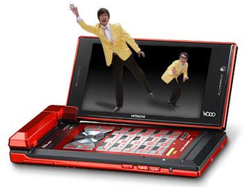 Wooo Ketai H001 — телефон с возможностью просмотра 3D-видео