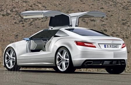 Mercedes перейдет на «крыло чайки»