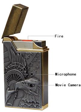 Шпионская зажигалка Lighter DVR