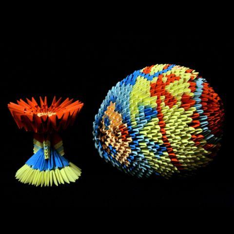 Модульное или 3D-оригами