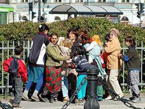 Правозащитники Питера заступились за цыган-карманников