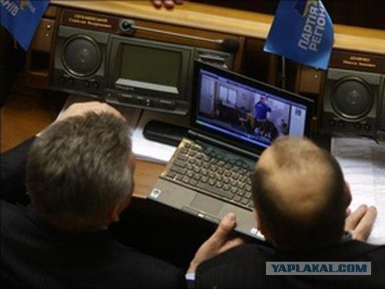 Нелегкая работа украинских депутатов