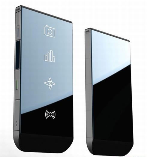 Концепт мобильного телефона Samsung Clover