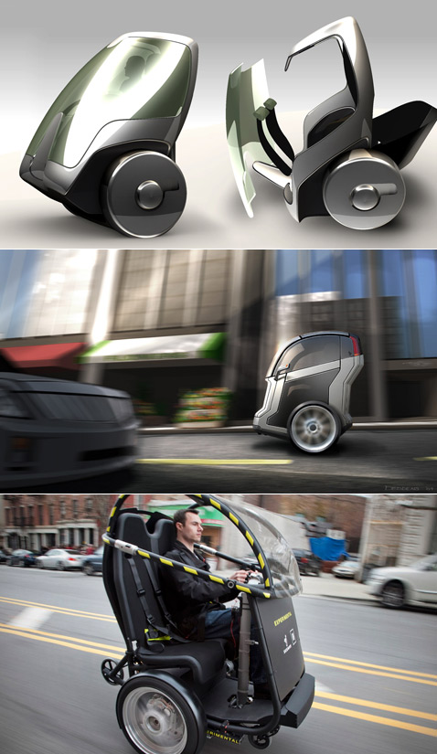 General Motors + Segway = электромобиль Puma