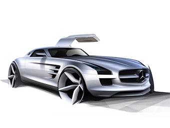 Mercedes-Benz рассекретил 571-сильный суперкар