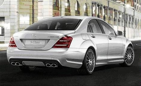 Mercedes-Benz рассекретил AMG-версии обновленного S-Class