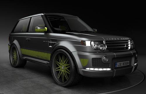 Tiret Coupe — Range Rover Sport с алмазами