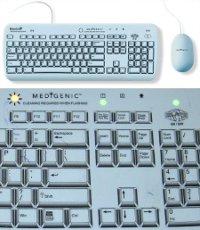 Гигиенические клавиатура и мышь