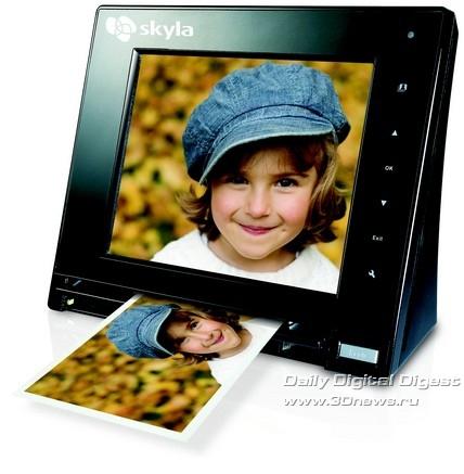 Skyla Memoir – первая цифровая фоторамка со сканером