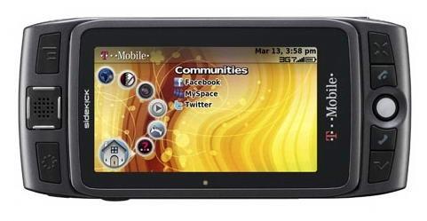Новый Sidekick LX: 3G и F-WVGA-экран