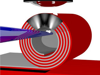 Физики создали самособирающуюся суперлинзу