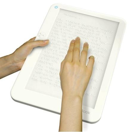 Прототип электронной книги для слепых