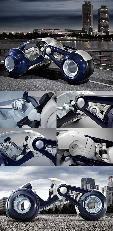 Анонсирован концепт-кар Peugeot необычной конструкции