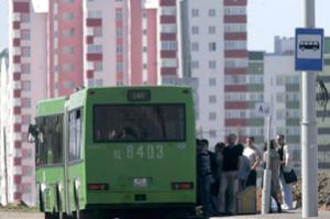 Глава Витебской области приказал красить автобусы в опасный цвет