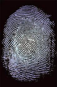 Об отпечатках пальцев