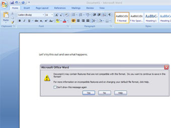 В Microsoft Office появилась поддержка OpenDocument