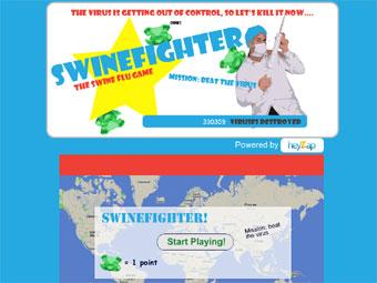 В Сети появилась игра про свиной грипп