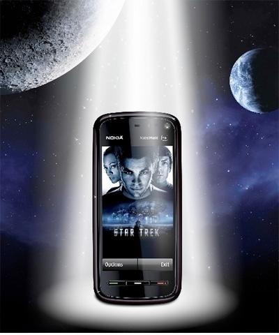 Nokia 5800: «Звездный путь»