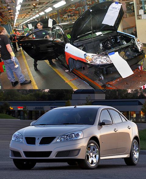����������� GM ������������ ������ ����� �������� Pontiac