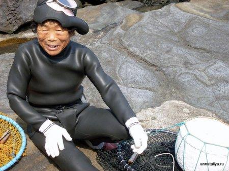 Хэнё - бабушки-ныряльщицы