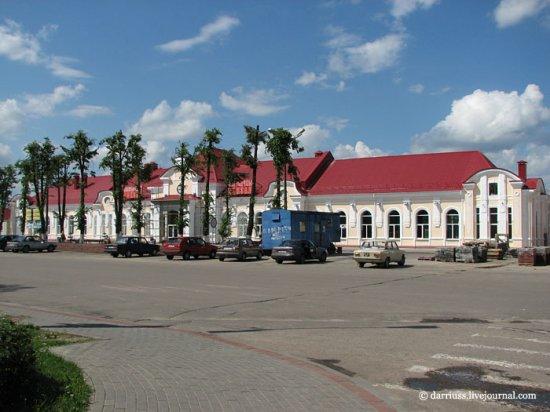 Экскурсии по Беларуси: Молодечно несовременное
