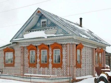 Красивый домик