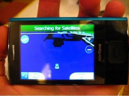 Asus-Garmin nuvifone M20 на фото