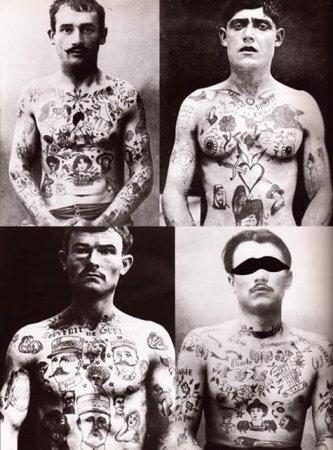 Татуировка начала  XX века