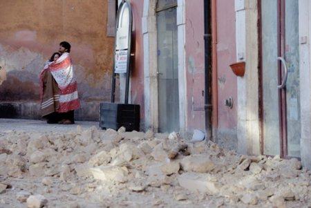 Землетрясение в Италии