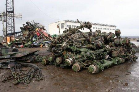 Утилизация танков