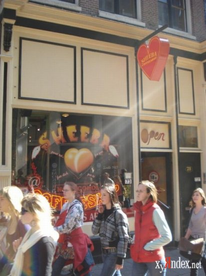 Амстердамские кофешопы