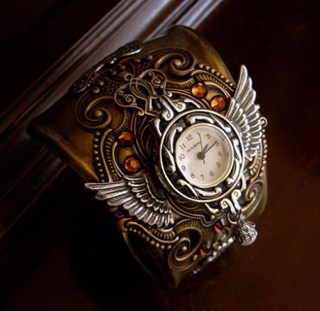 Steampunk Watches by Aranwen