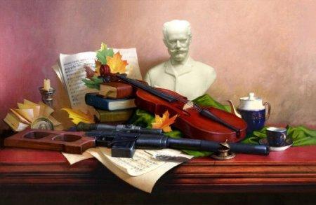 Милитаристский натюрморт