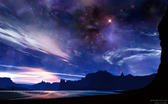 Wallpaper Abyss - Space Wallpaper - part 1