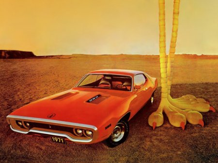 � ������ �������: ������� Plymouth Road Runner � ���������, �� �������� ����-����