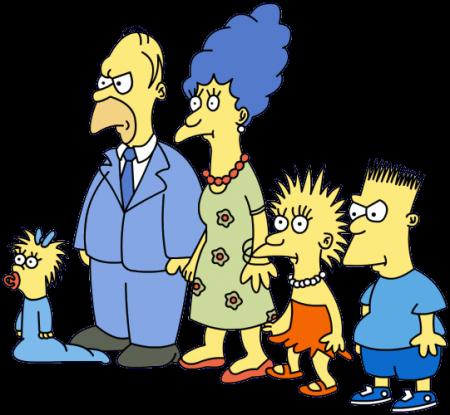 История Симпсонов