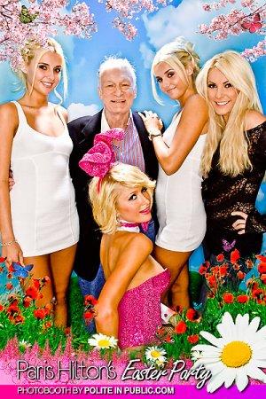 Пэрис Хилтон (Paris Hilton) в пасхальной фотосессии