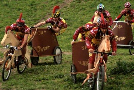 Гонки на велоколесницах в Риме
