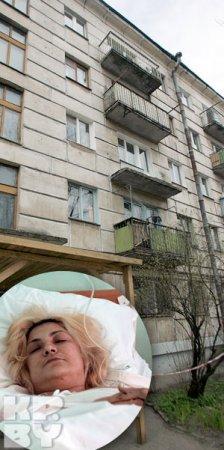 В центре Минска обвалился балкон с людьми (фото)