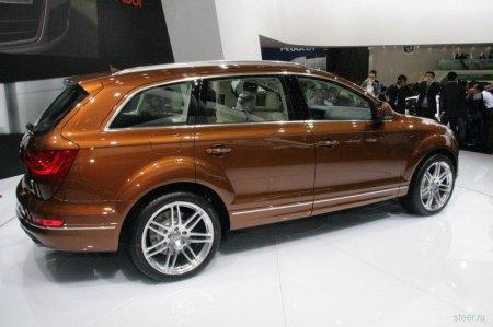 Шанхайская премьера обновленного Audi Q7