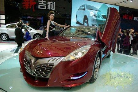 Китайский Феррари пустят в производство