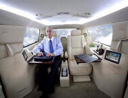 Роскошный офис на колесах!