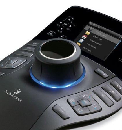 3DConnexion SpacePilot Pro – ультрафункциональная мышь