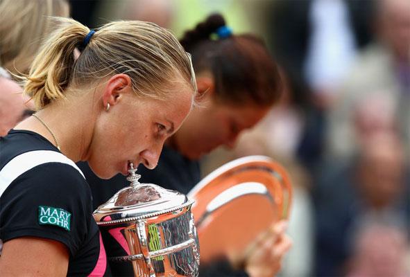 Светлана Кузнецова-победительница Roland Garros-2009