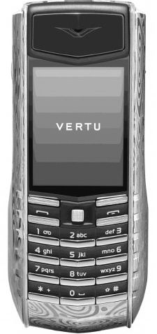 Vertu Ascent Ti Damascus Steel: дамасская сталь