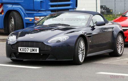 Шпионские фото родстера Aston Martin V12 Vantage