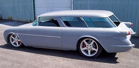 Перекочевали: Американцы возродили легендарный Chevrolet Nomad