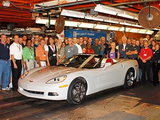 Очередной рекорд — вышел полуторамиллионный Corvette